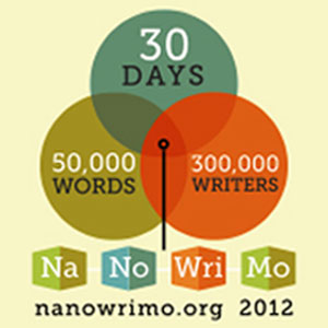 national novel writing month 2012 National novel writing month happens every november it's a fun, seat-of-your-pants writing event where the challenge is to draft an entire novel in just 30 days for one month, you get to lock away your inner editor, let your imagination take over, and just create.